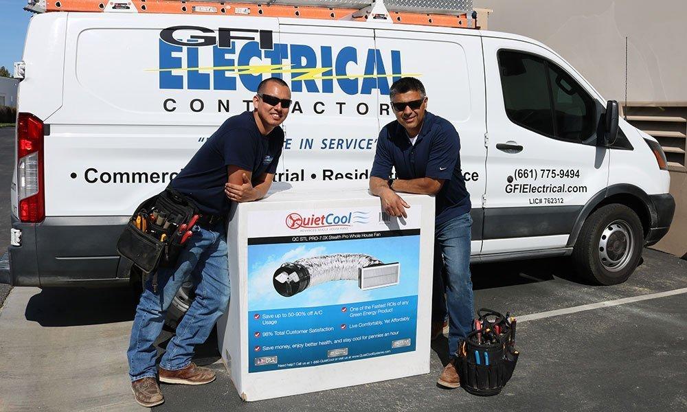 QuietCool Whole House Fans - GFI Electrical Contractors